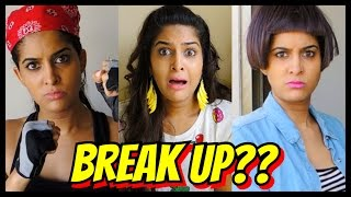 Types Of Indian Girls After a Break Up | #AnishaTalks
