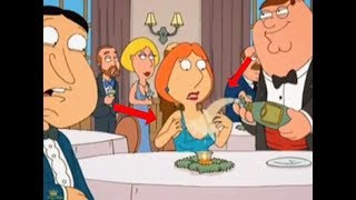 family guy lois boobs pop out