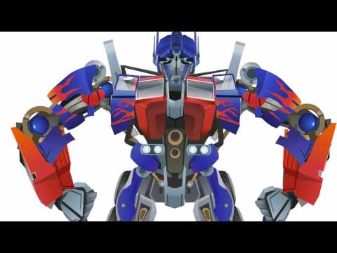 OPTIMUS Prime Transform Short Flash Transformers Series