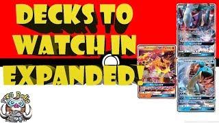 5 Pokemon Decks to Watch in the Expanded Format! (Best Pokemon Decks)