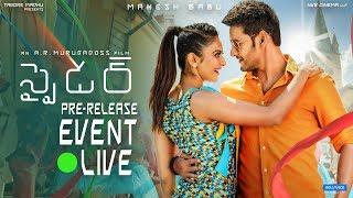 SPYder Pre Release Event LIVE   Mahesh Babu   A R Murugadoss   Rakul Preet   Harris Jayaraj