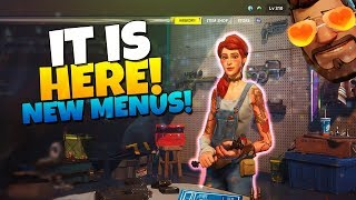 FIRST IMPRESSIONS! *NEW* | Fortnite Save The World MENU/Update