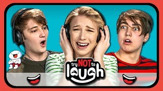 YouTubers React To Try to Watch This Without Laughing Or Grinning #26