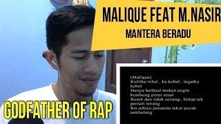 MALIQUE FEAT M NASIR || MV REACTION#59