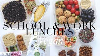 Vegan School & Work Lunch Ideas/Weekly Plan | JessBeautician