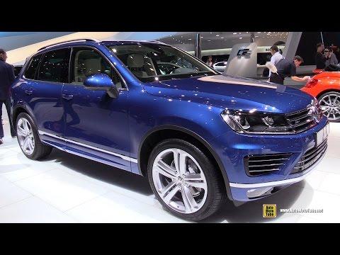 Xxx Mp4 2015 Volkswagen Touareg TDI R Line Exterior And Interior Walkaround 2015 Geneva Motor Show 3gp Sex