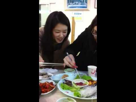 Eating penis fish (gaebul) in South Korea!