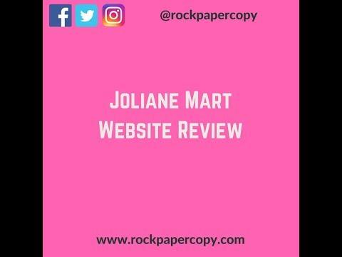 Joliane Mart Website Review