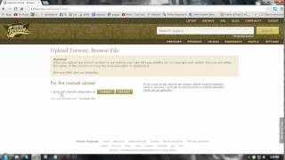 [Audio tutorial] How to upload files on Kickass torrents