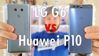 LG G6 vs Huawei P10: The pretty AND powerful showdown!