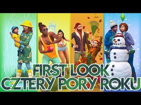 Xxx Mp4 First Look I The Sims 4 CZTERY PORY ROKU Harcerstwo Zmiana Pogody Bukiety Pszczoły Wrotki 3gp Sex