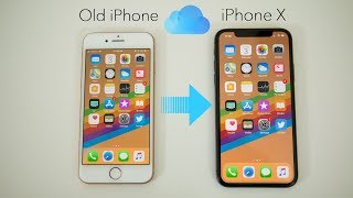 How to Backup Old iPhone & Restore to iPhone X (Setup Process)