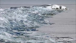 Lake Superior Ice Stacking II (extended release of viral video)