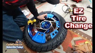 How To Change & Balance Motorcycle Tires EASY!