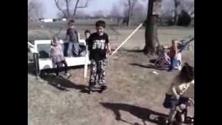 Cute kids doing Harlem shake