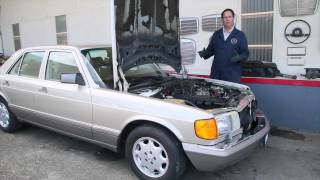Gasoline Model Mercedes Sitting Too Long: 1975 to 1995 Benz Series Part 6 w/ Kent Bergsma