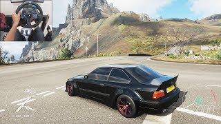 BMW M3 E36 - Forza Horizon 4 Fortune Island   Logitech g29 gameplay