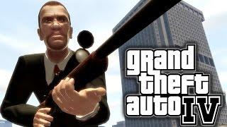 GTA 4 Sniper Mission Gameplay: Sniper Assassin