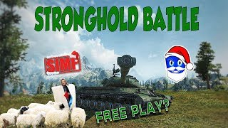 World of Tanks- S1MP vs NOMI | Tri Livade- Stronghold Battle Gameplay