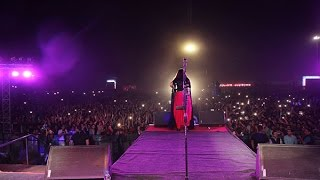 Sona Mohapatra performing as a Coke Studio artist in LPU