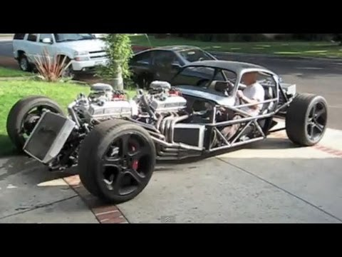 V16 Hot Rod first drive