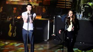 Maroon 5 - Out of Goodbyes (w/ Sara Bareilles - Exclusivity) @ Casino de Paris, France