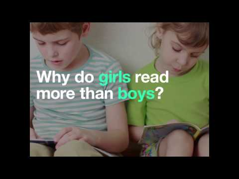 Why do girls read more than boys?