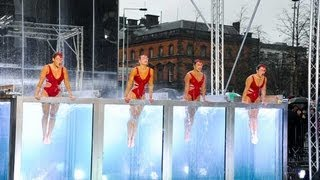 Synchronised swimmers Aquabatique - Britain