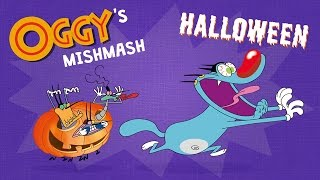 Oggy's Mishmash - Halloween - Oggy & The Cockroaches Special!