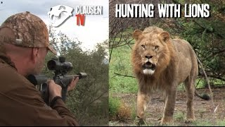 Hunting with lions by Kristoffer Clausen. English subtitles in full movie.
