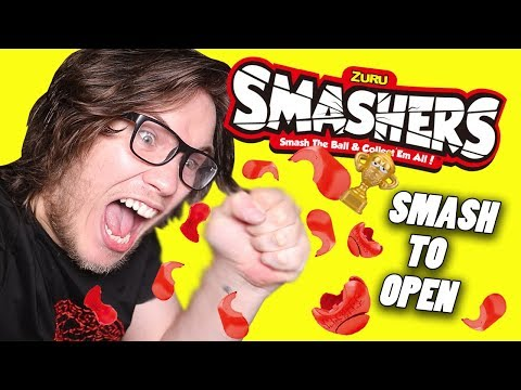 Smashing Open 32 Smashers Toy Capsules!
