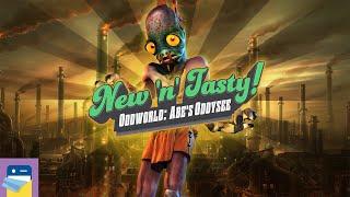 Oddworld: New 'n' Tasty: iOS iPad Pro Gameplay Part 1 - Max Graphics! (by Oddworld Inhabitants Inc)