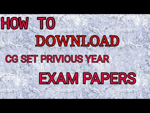 Xxx Mp4 How To Downlod Cg SET Privious Year Paper 3gp Sex