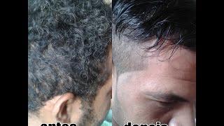 Como alisar cabelo masculino, melhor jeito de alisar cabelo masculino