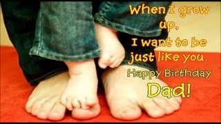 Happy birthday Dad - wishes, SMS, Quotes, message, greetings for Father on his b'day