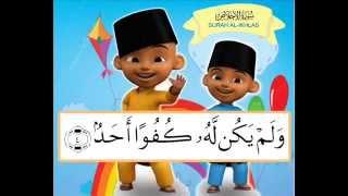 SURAH Al IKHLAS   Belajar Menghafal Al Qur'an bersama Upin Ipin
