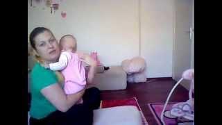 Cum ajutam bebelusul sa elimine aerul din burtica //ISSABELLA