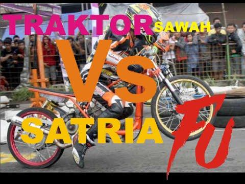 PARAH, Balap Traktor drag ini lebih cepat dari Satria FU dan Ninja BUKTIKAN SENDIRI !!!