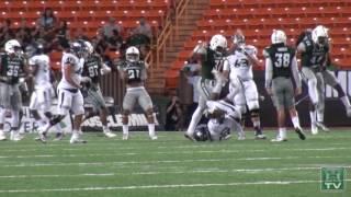 Hawaii Football Highlights vs. Nevada 10-1-16