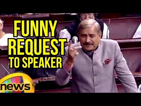 Pramod Tiwari Funny Request To Speaker Over PM Modi Presence In Rajya Sabha | Mango News