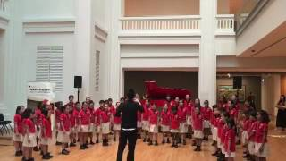 Yew Tee Primary School Choir Performance 31st March 2017 Part 1