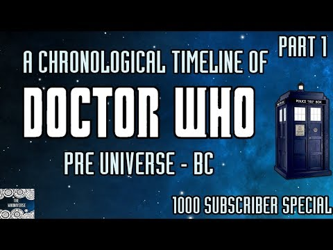 Xxx Mp4 A Chronological Timeline Of Doctor Who Part 1 Pre Universe To BC 3gp Sex