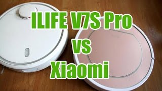 Xiaomi vs ILIFE V7S Pro Cleaning Test