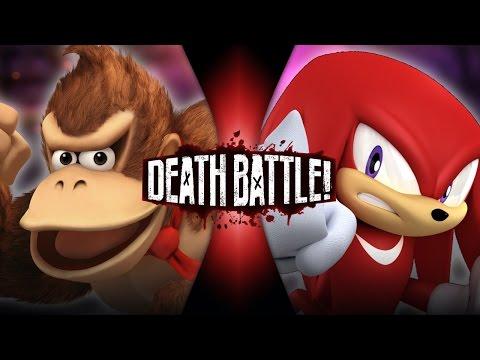 Donkey Kong VS Knuckles | DEATH BATTLE!