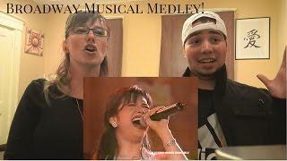 MOM & SON REACTION! Martin Nievera and Regine Velasquez Broadway Musical Medley