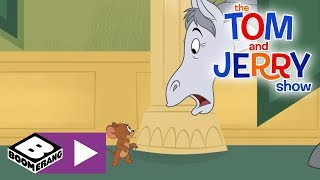 The Tom and Jerry Show    Tom Hunts Down A Horse   Boomerang UK 🇬🇧