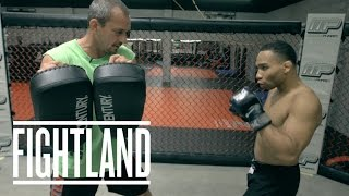 The Switch Kick with Jon Dodson: Fight School