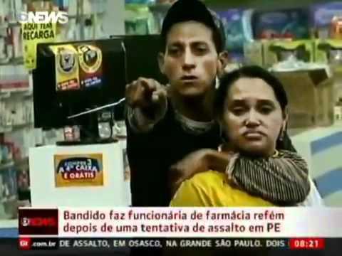 BANDIDO MORRE AO FAZER REFÉM
