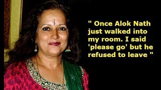 Himani shivpuri allegation on Alok Nath for sexual harassment!#METOO