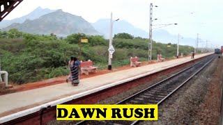 ALCO Chennai Kanyakumari Morning 6.15 Rush | Panakudi